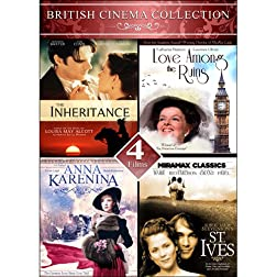 British Cinema Collection 2 - 4 Films: The Inheritance, Love Among the Ruins, Anna Karenina, & St. Ives