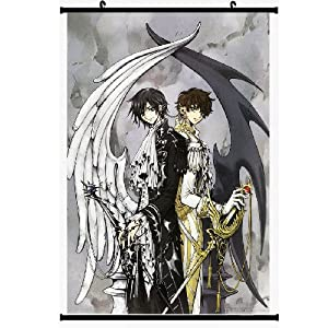 Home Decor Japanese Anime Code Geass: Lelouch of the Rebellion Lelouch Lamperouge Lelouch Vie Britannia Fiber Fabyic Wall Scroll Painting 001 (DIY Supported)