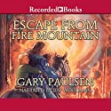 Escape from Fire Mountain: World of Adventure Series, Book 3 Audiobook by Gary Paulsen Narrated by Jeff Woodman