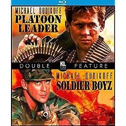 Platoon Leader / Soldier Boyz [Blu-ray]