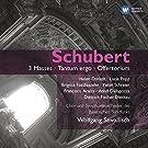 Schubert : 3 Messes - Tantum Ergo - Offertorium