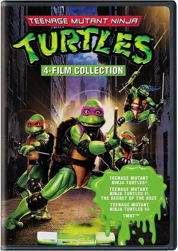 DVD : 4 Film Favorites: Teenage Mutant Ninja Turtles Collection (Full Frame, Widescreen, Eco Amaray Case, 2 Disc)