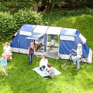 Skandika Montana 6 Man Tent - Blue by Skandika