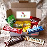 Nakd Treat Box Box - Infused Raisins, Raw Fruit, Oak and Nut Bars, 5 a Day Healthy Snack Box - By Moreton Gifts