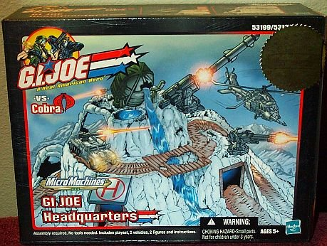 Buy Low Price Hasbro Micro Machines G.I. Joe vs. Cobra GI Joe Headquarters Playset Figure (B000NIF6Y4)
