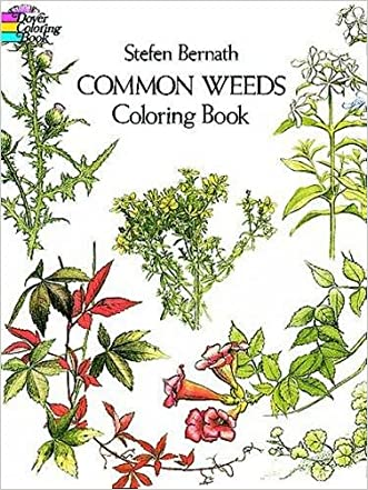 Common Weeds: Coloring Book
