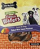 Three Dog Bakery 13-Ounce Classic Wafers Sweet Potato Baked Dog Treats