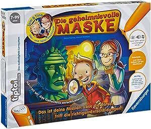 Ravensburger 00520 - tiptoi®: Tom & Tina - Die geheimnnisvolle Maske (Ohne Stift)