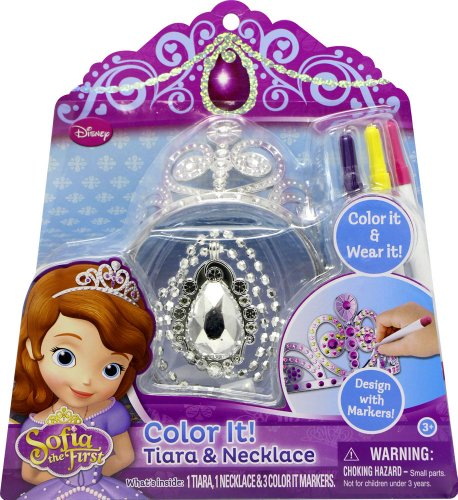 Tara Toy Sofia Color It Tiara and Necklace