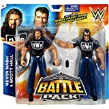 """WWE Wrestling Basic Series 36 Scott Hall & Kevin Nash 6"""" Action Figure 2-Pack [The Outsiders]"""