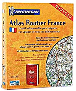 atlas routier france michelin logiciels. Black Bedroom Furniture Sets. Home Design Ideas