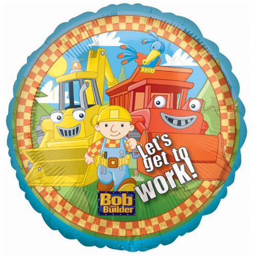 Bob the Builder Foil Balloon Party Accessory