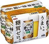 キリン 濃い味〈糖質ゼロ〉 6缶パック 350ml×6本