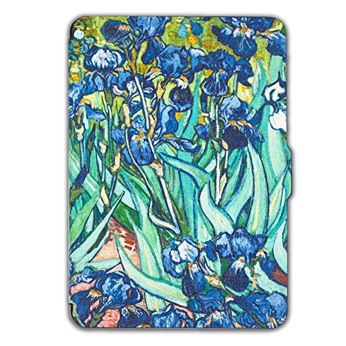 Kindle Paperwhite Book Cover Art : Kandouren case cover for kindle paperwhite iris art skin