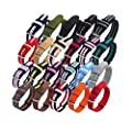 CUCOL 2PC Nylon Watch Band Replacement Watch Strap,18mm, 20mm or 22mm