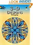 3-D Designs (Dover Design Coloring Bo...