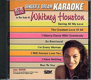 Whitney Houston (Karaoke CDG)