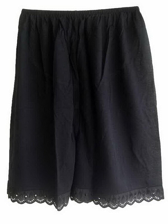 Damen Cotton Halb Slips Neu UPPCBK BLACK Half Slips Women Pettipants Lace günstig kaufen