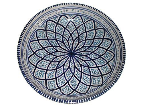 xxl-schale-aus-keramik-servierschale-orientalisch-farbe-blau-weiss-handarbeit-kuche-oe-31-cm-diese-g