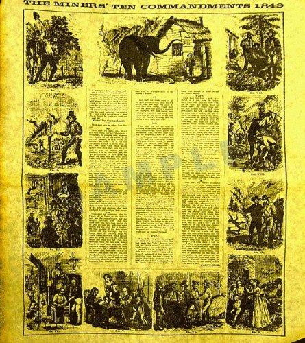 Miner's Ten Commandments