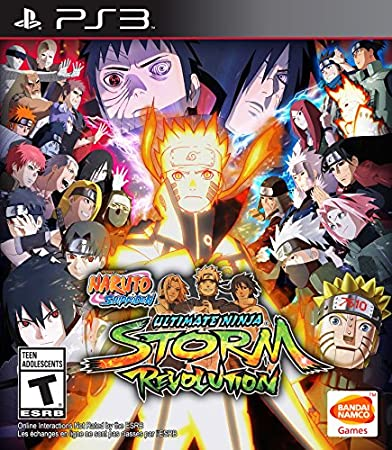 Naruto Shippuden: Ultimate Ninja Storm Revolution: Day 1 Edition - PlayStation 3