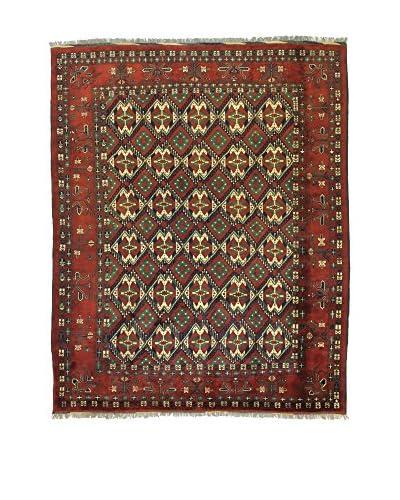 Eden Carpets Alfombra Uzebekistan Rojo/Multicolor 297 x 250 cm
