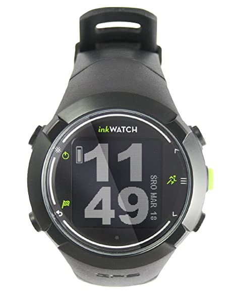 inkWATCH TRIA - RUN BIKE SWIM - GPS Sport Watch for Running, Cycling, Swimming with Virtual Trainer; Fitness Running Watch, Tracks Distance, Time and Pace, Smart Lap & Interval Training, Water and Shock Resistant. Bluetooth Smart