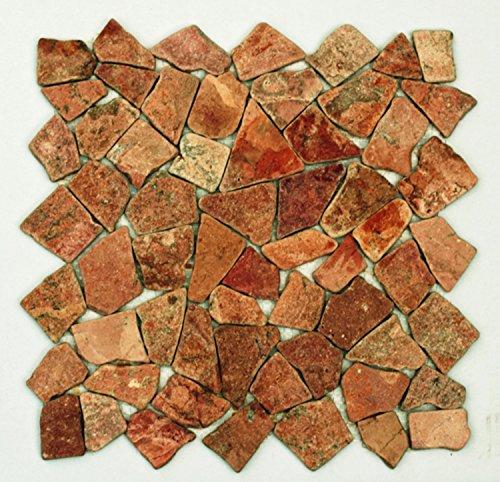 002 Marmor Mosaik Bruchstein Fliesen Naturstein Badezimmer Stein ...
