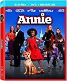 Annie [Blu-ray + DVD + UltraViolet Digital Copy]