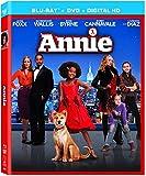 Annie [Blu-ray + DVD + UltraViolet Digital Copy]