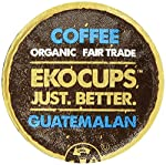 EKOCUPS Artisan Guatemalan Coffee, Medium Roast, in Recyclable Single Serve Cups for Keurig K-cup Brewers, 40 count by EkoCups