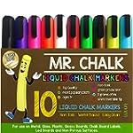 Mr. Chalk 10 Pack of Liquid Dustless...
