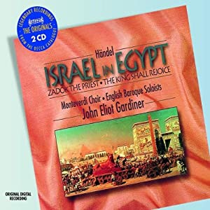 Handel Israel In Egypt Etc by Decca (UMO)