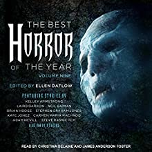 The Best Horror of the Year, Volume Nine Audiobook by Ellen Datlow - editor Narrated by Christina Delaine, James Anderson Foster