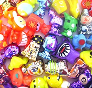 Crazy Bones Gogo's Series 4 Power 20 Random Gogos + 20 Random Trading Cards (no doubles) by Magic Box Int