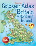echange, troc S.R. Turnbull, Fiona Patchett - Usborne Sticker Atlas of Britain and Northern Ireland