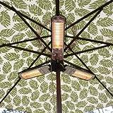 NEW - Umbrella Halogen Patio Heater-60404