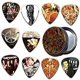 Carcass 10 X Guitar Plectrums In Tin ( Ltd To 200 )