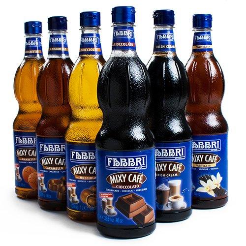 Fabbri Mixy Cafe Coffee Syrup - Hazelnut (1000 Ml)