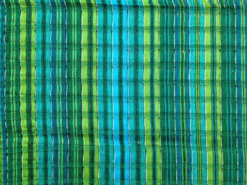 Handwoven Short Head Wrap Turquoise Lime Emerald Cotton Gauze Hair Scarf Turban Chemo front-361726