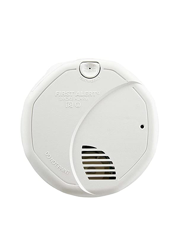 First Alert BRK 3120B-6 Hardwired Photoelectric and Ionization Smoke Alarm with Battery Backup, 6 Pack (Tamaño: 6 Pack)