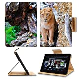 Lion Stones Eyes Predator Big Cat Amazon Kindle Fire HDX 7 [2013 Version Only] Flip Case Stand Magnetic Cover Open Ports Customized Made to Order Support Ready Premium Deluxe Pu Leather 7 11/16 Inch (195mm) X 5 11/16 Inch (145mm) X 11/16 Inch (17mm) Liil Professional Kindle_fire_hdx Cases Kindle7 Accessories Build Model Graphic Background Covers Designed Model Folio Sleeve HD Template Designed Wallpaper Photo Jacket Luxury Protector
