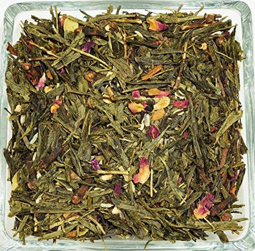 Lovetea Loose Leaf Green Chai Tea Exotic Spice - 16 Ounces