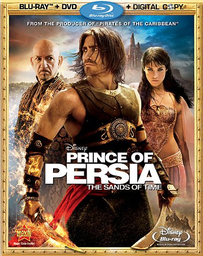 Cover art for  Prince of Persia: The Sands of Time (Blu-ray/DVD Combo + Digital Copy) [Blu-ray]