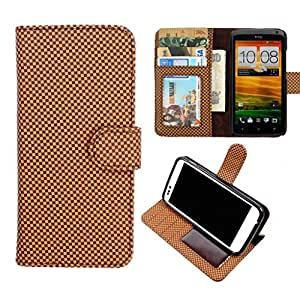 DooDa PU Leather Wallet Flip Case Cover With Card & ID Slots & Magnetic Closure For Lava Xolo A500 Club