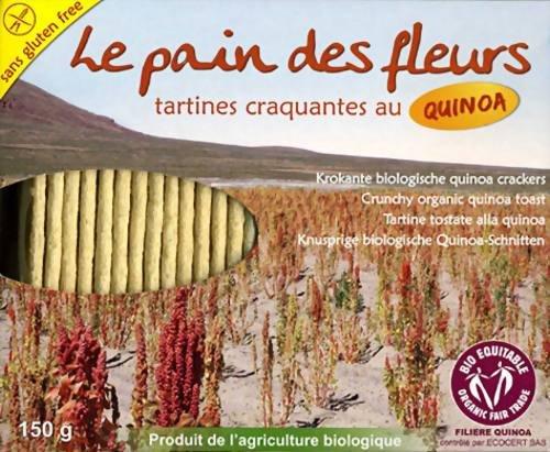 Le Pain des Fleurs Org Quinoa Crispbread 150g