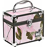 Plano Realtree Girl Caboodle Train Case, Realtree Pink, Medium