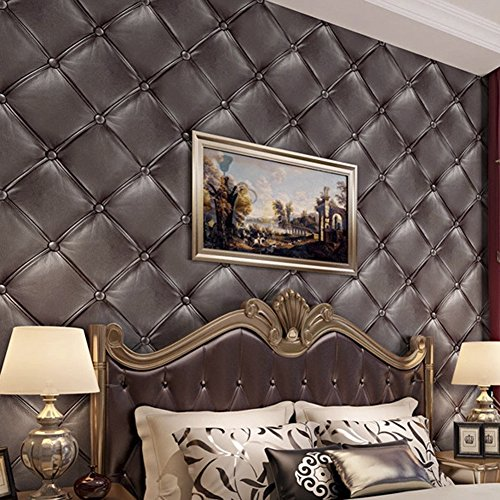 hanmero-vintage-3d-faux-leather-textured-lattice-wallpaper-vinyl-wall-paper-mural-208-x-3937-for-liv