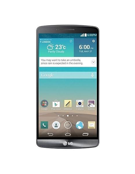 LG D855 G3 Titan Smartphone débloqué 4G (Ecran: 5,5 pouces - 16 Go - Simple Micro-SIM - Android 4.4 KitKat) Noir