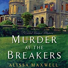 Murder at the Breakers (       UNABRIDGED) by Alyssa Maxwell Narrated by Eva Kaminsky